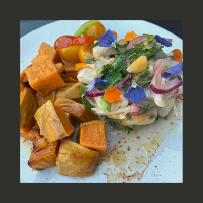 Céviche de poisson recette Chilienne