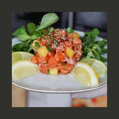Tartare de saumon (200g)