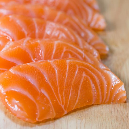 Sashimis de Saumon (200g)