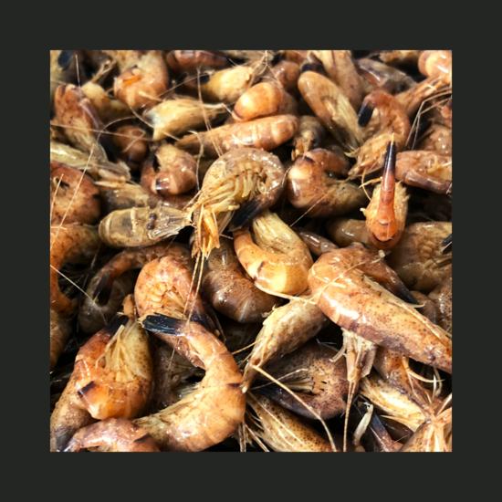 Crevettes grises de Pays 100g (sur plateau)